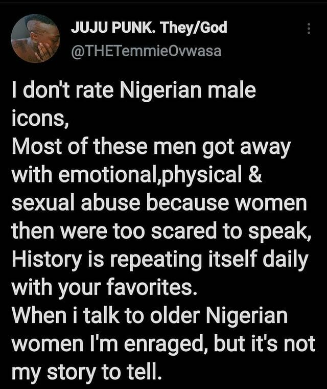 Temmie Ovwasa shares why she doesn't rate Nigerian male Icons