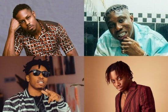 Top 10 collaborations from Nigerian Rappers and Singers in 2021 So Far